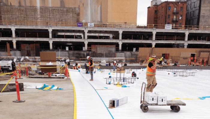 When F.D. Thomas, A Respected West Coast Waterproofing Contractor, Was  Faced With Flooding, Immense Scale And A Project Below The Water Table Near  Two Major ...
